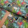 Úplet - gris PACO - šíře 160cm/1bm