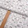 Bavlněné plátno - Zvířátka na bílé - šíře 160cm/1bm