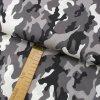 Bavlněné plátno - Maskáč šedý - šíře 150cm/1bm