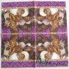 Ubrousek na decoupage 33 x 33cm 1ks, zlatý anděl
