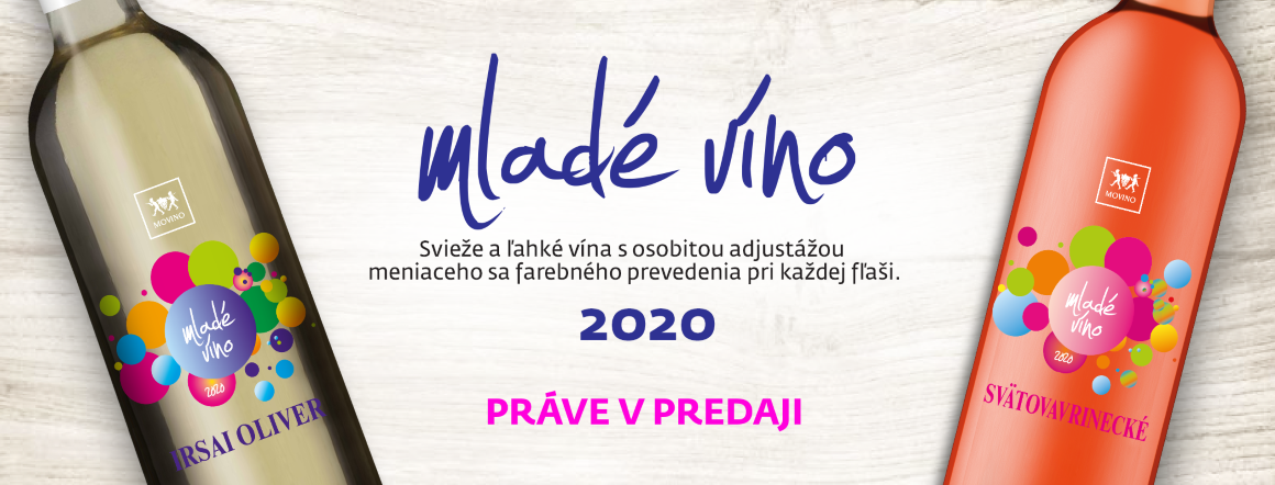 Mladé vína ročníka 2020