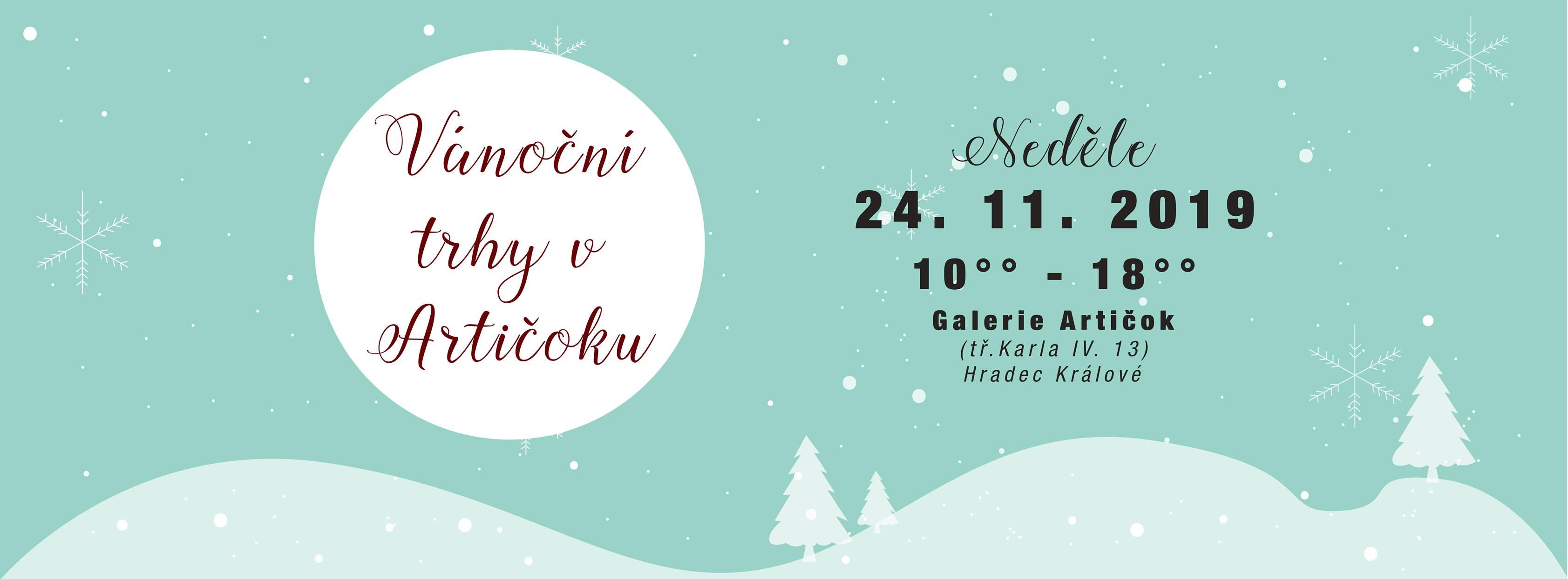 Vánoční trhy v Artičoku - Hradec Králové