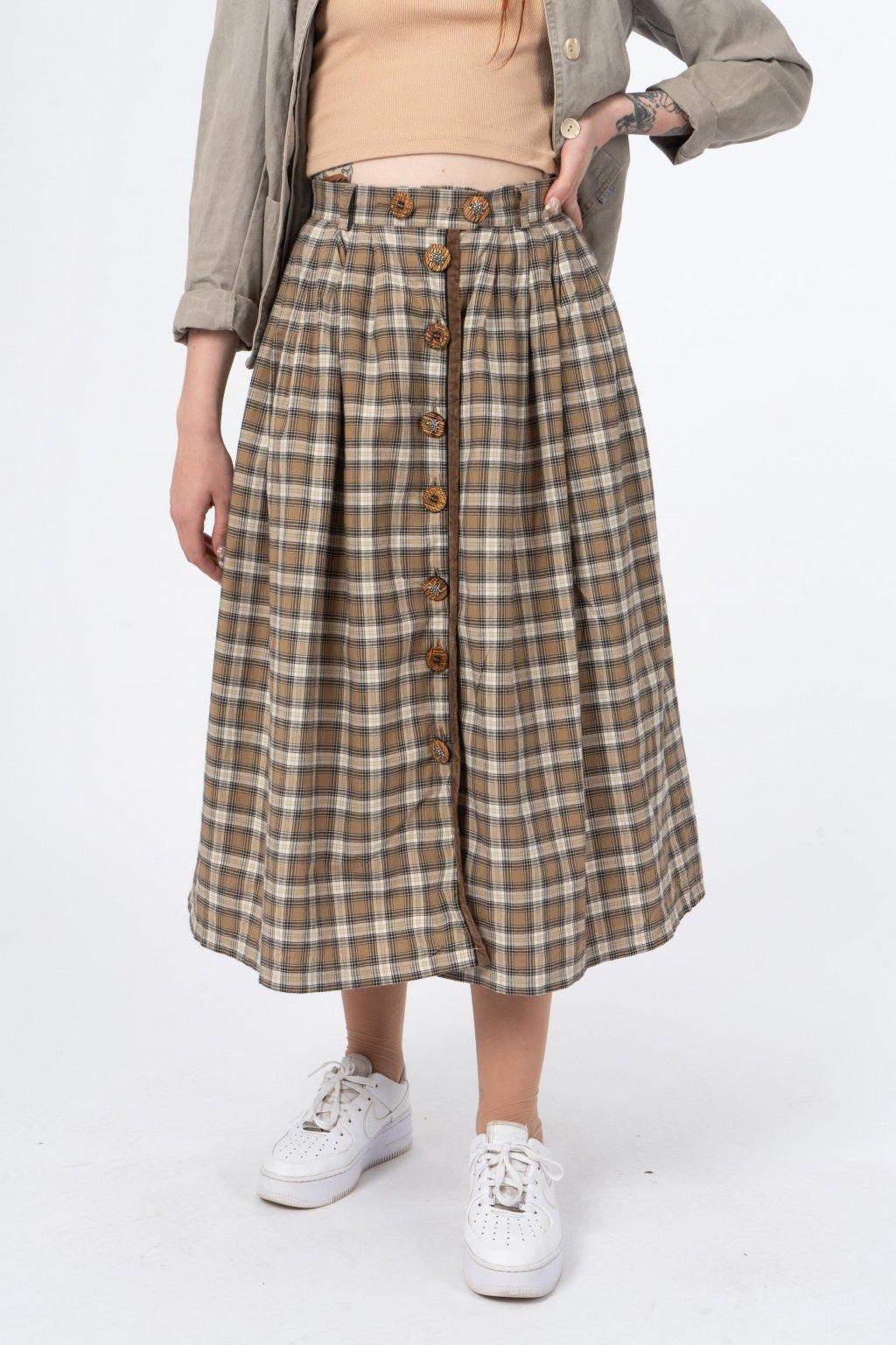 Bavlněná maxi sukně