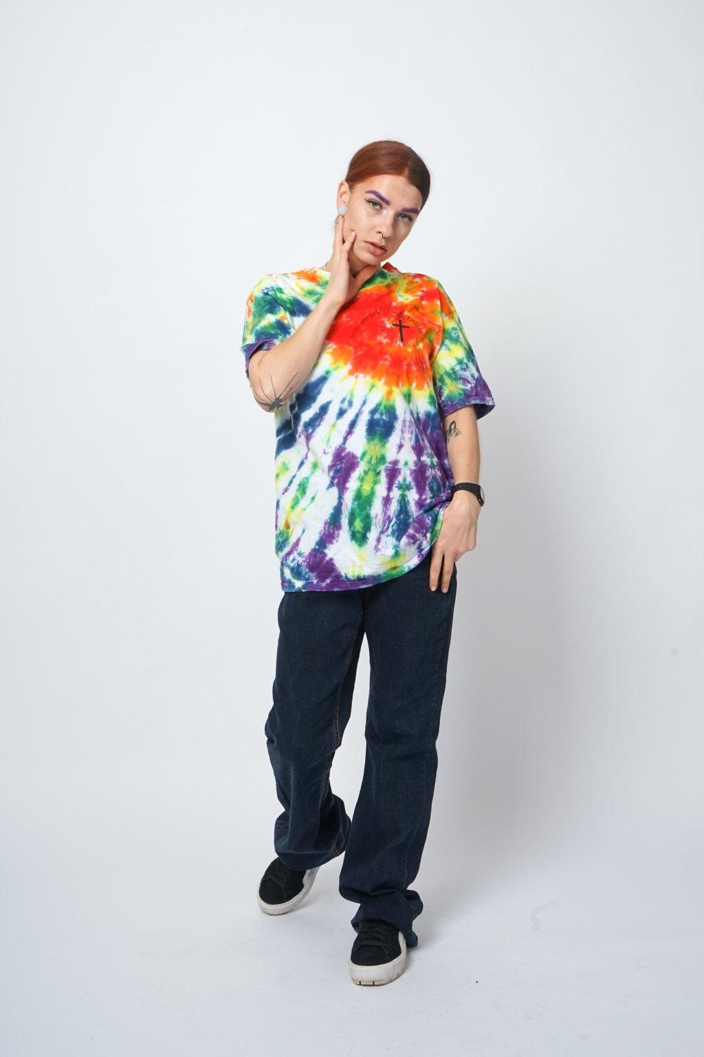 Batikované triko
