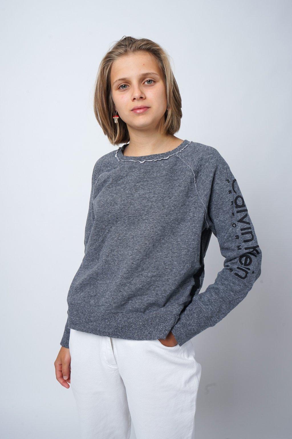 Calvin Klein mikina šedá