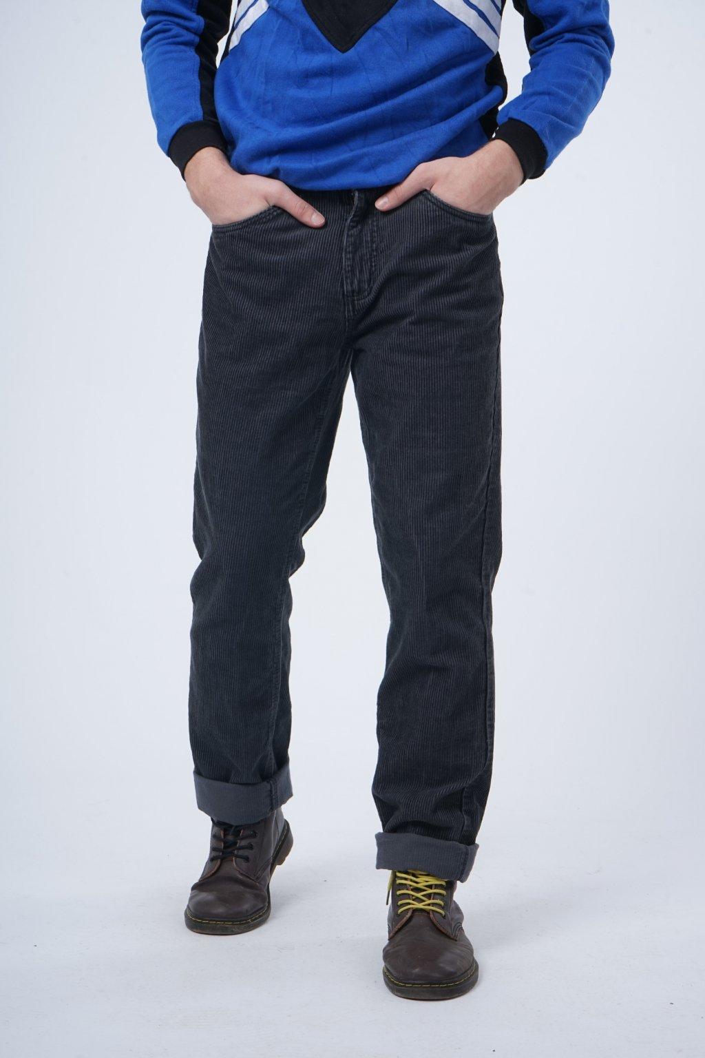 Manšestrové kalhoty (48)