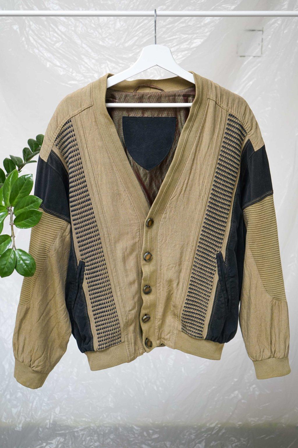 Vintage lněná bunda