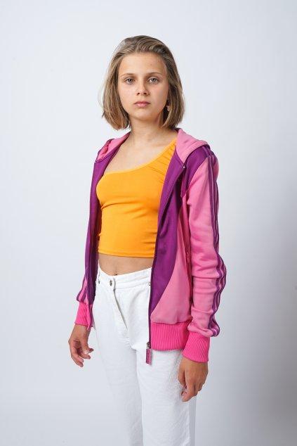 Adidas mikina růžová