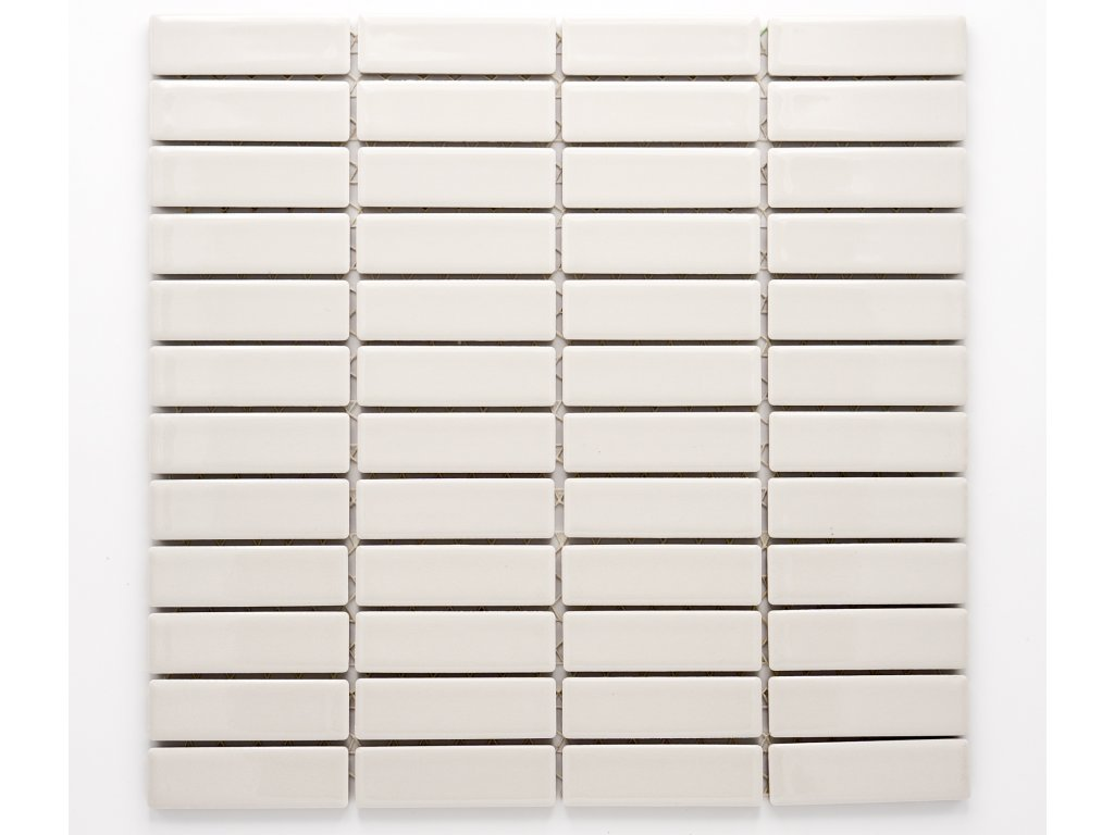 MCB 002 keramická mozaika šedá 73x22mm