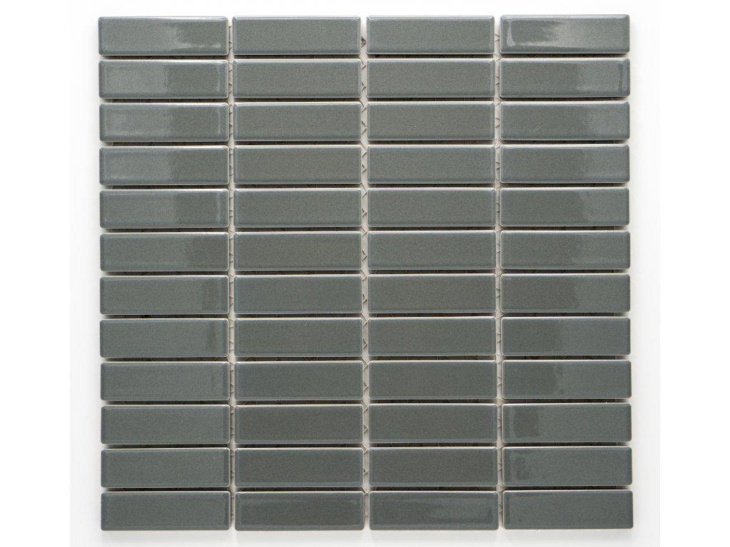MCB 004 keramická mozaika šedá 73x22mm