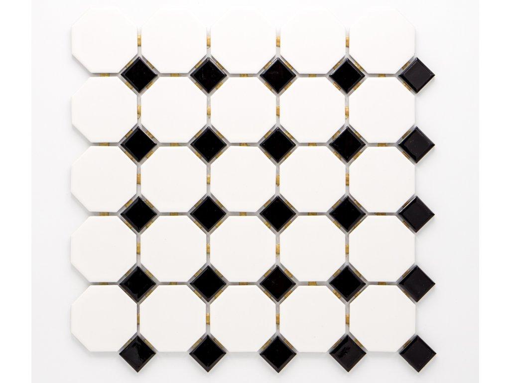 MCO 001 keramická mozaika bílá 56x56mm
