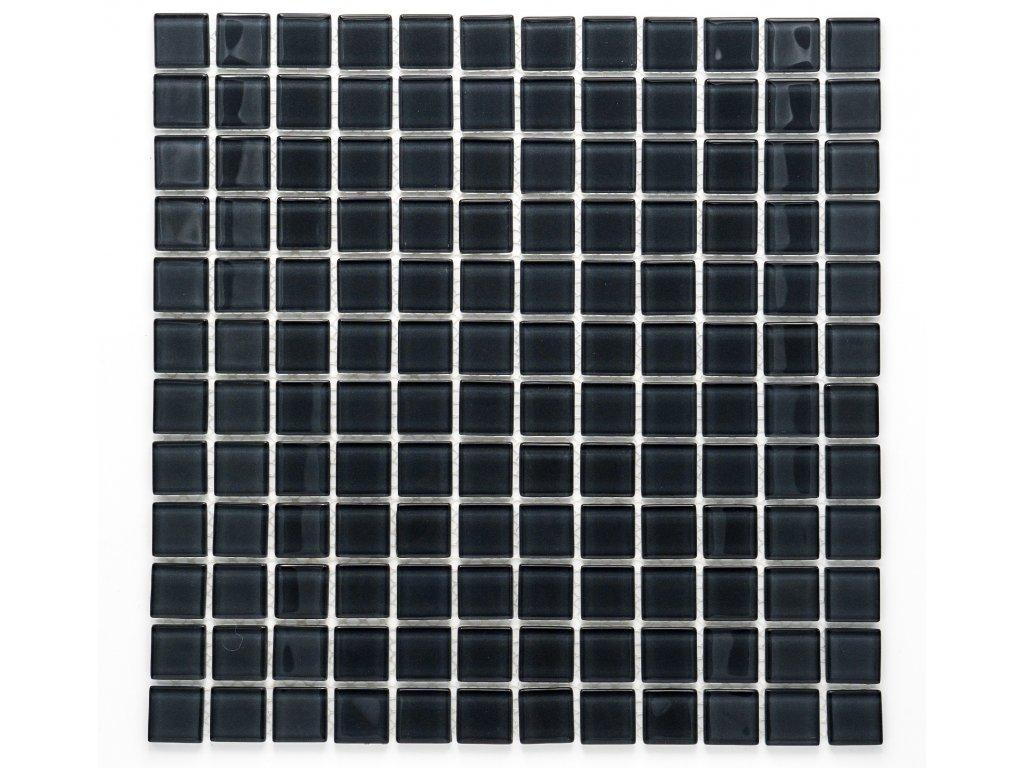 MGC 003 skleněná mozaika šedá 23x23mm