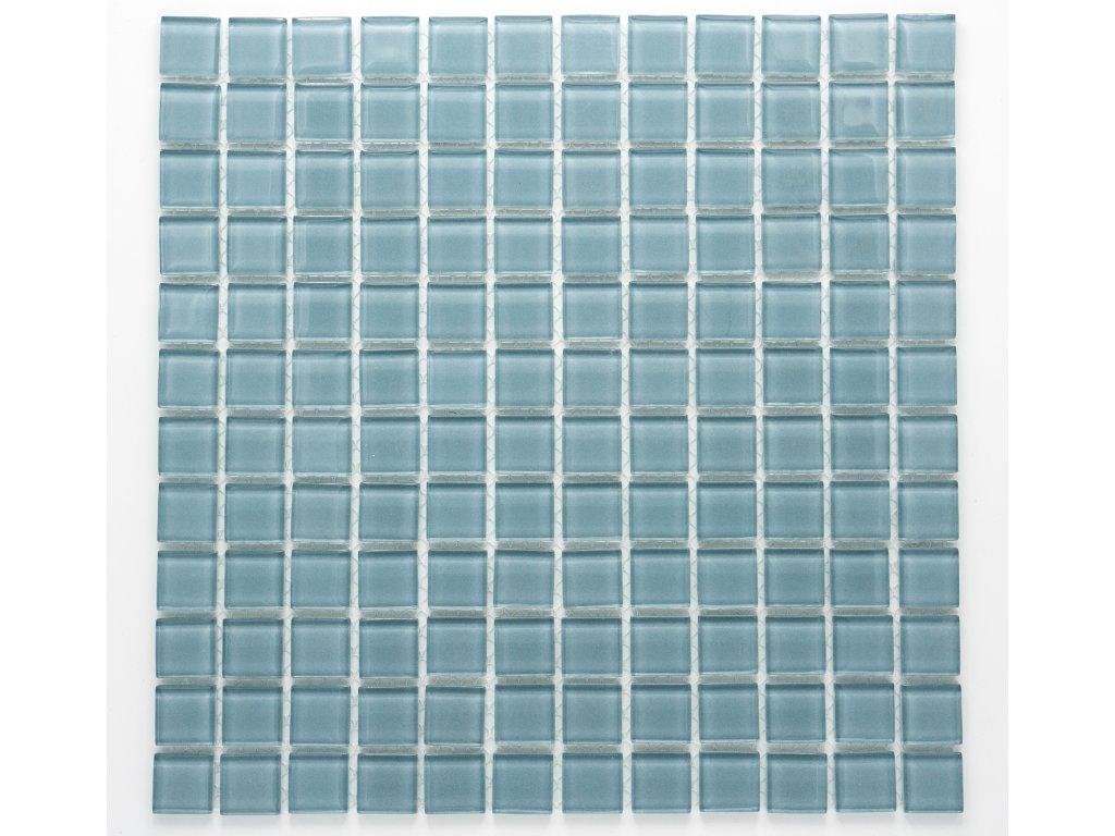 MGC 005 skleněná mozaika šedá 23x23mm