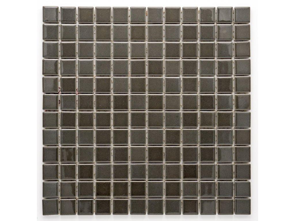 MC23 003 keramická mozaika šedá 23X23mm