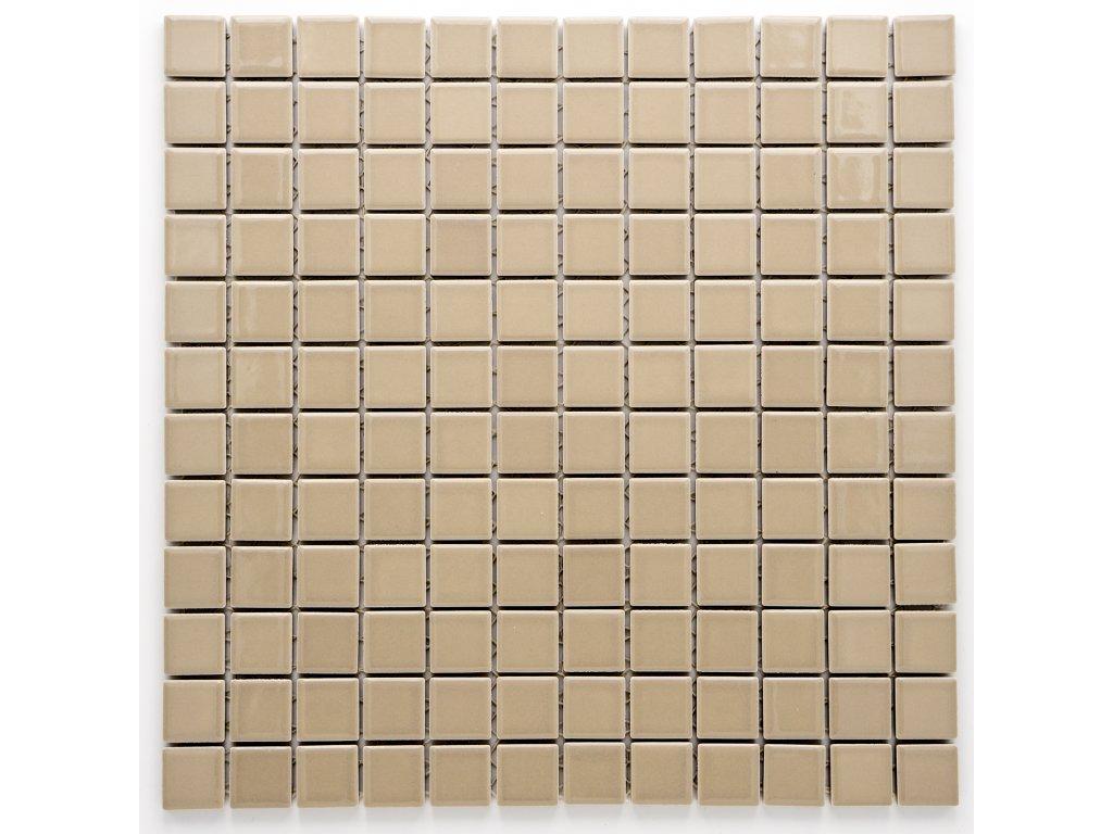 MC23 004 keramická mozaika šedohnědá 23X23mm