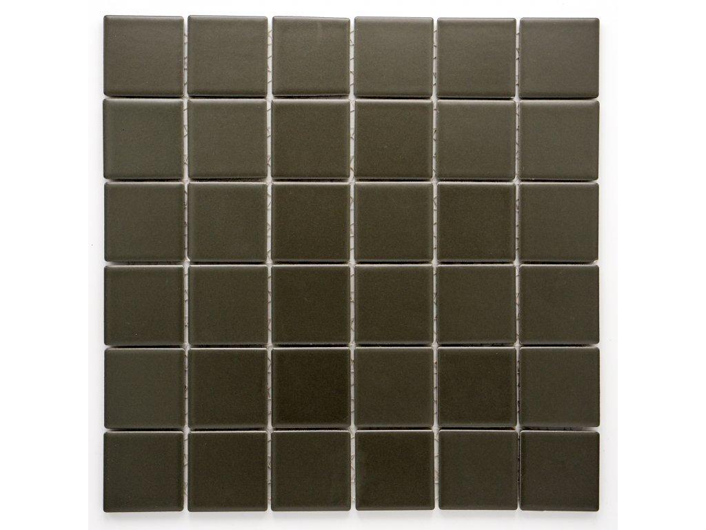 MC48 012 keramická mozaika šedá 48x48mm