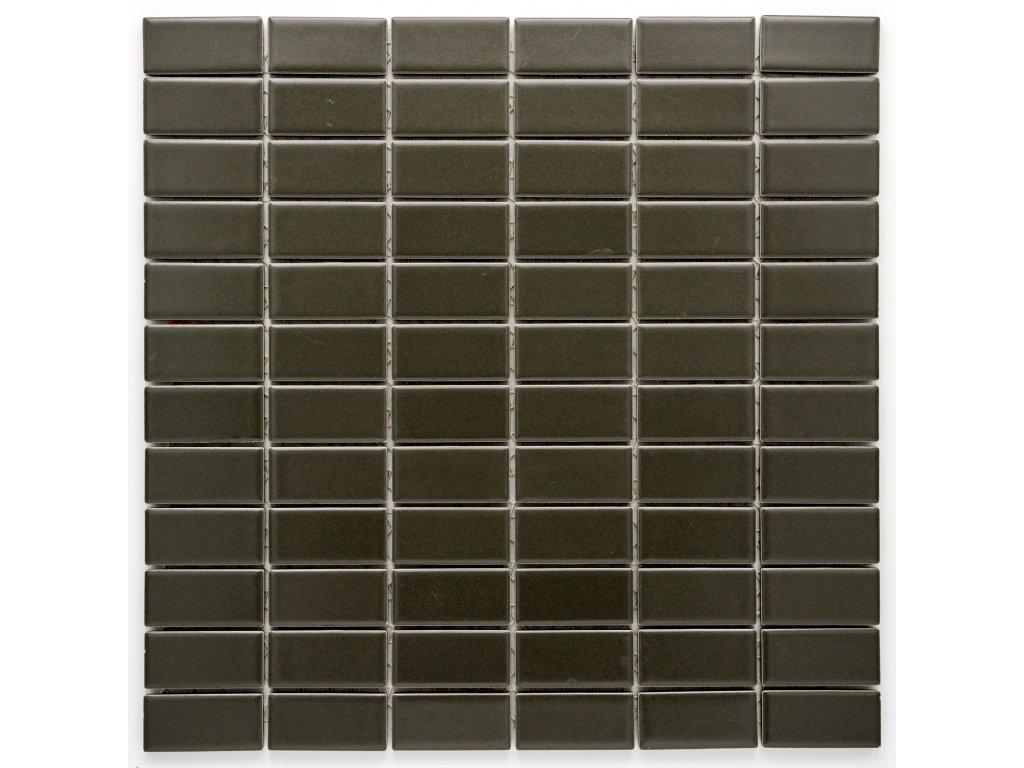 MCB 022 keramická mozaika šedá 23x48mm