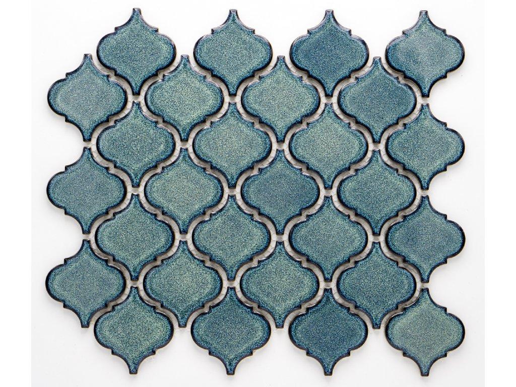 MCS 002 keramická mozaika tyrkysová
