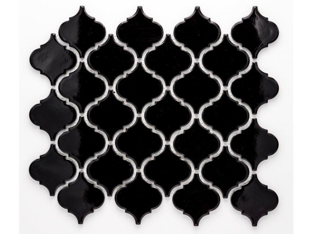 MCS 004 keramická mozaika černá