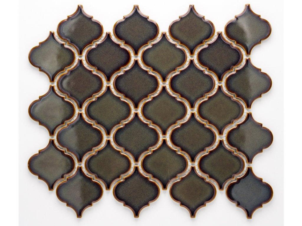 MCS 005 keramická mozaika černá
