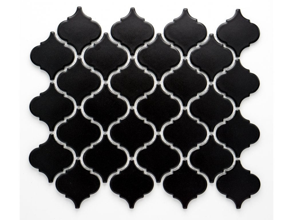 MCS 006 keramická mozaika černá