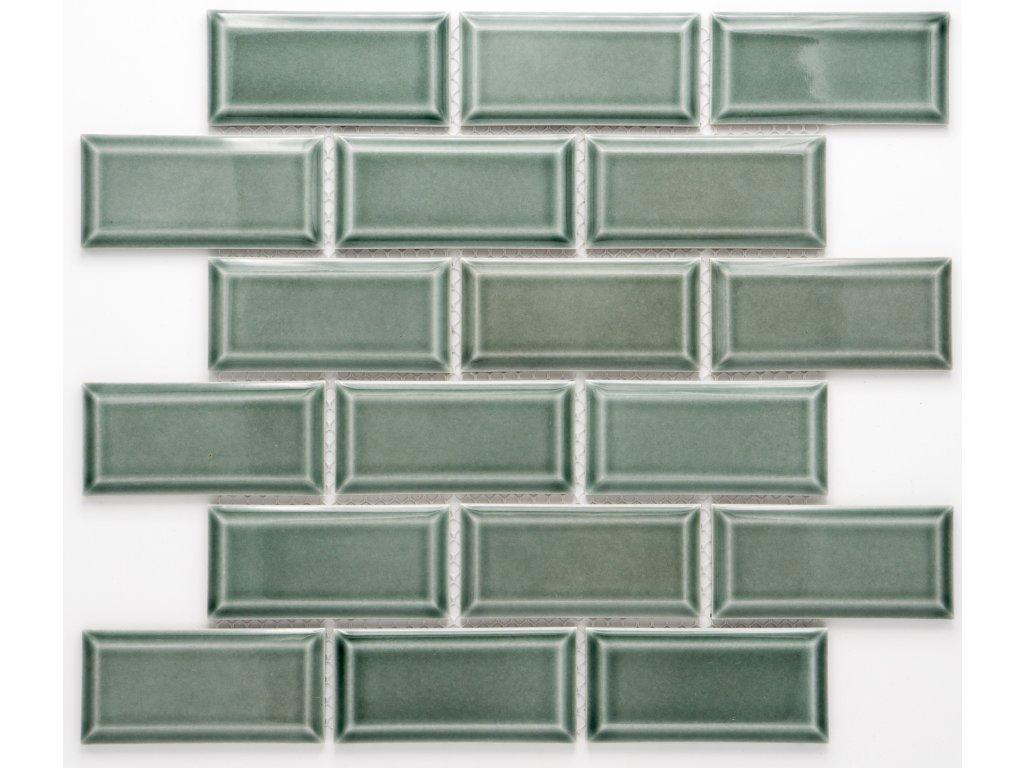 MCB 026 keramická mozaika petrolejová 45x95mm