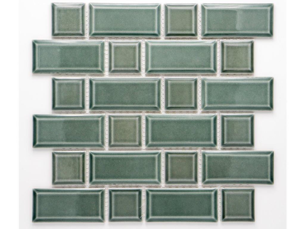 MCB 027 keramická mozaika petrolejová 45x95mm