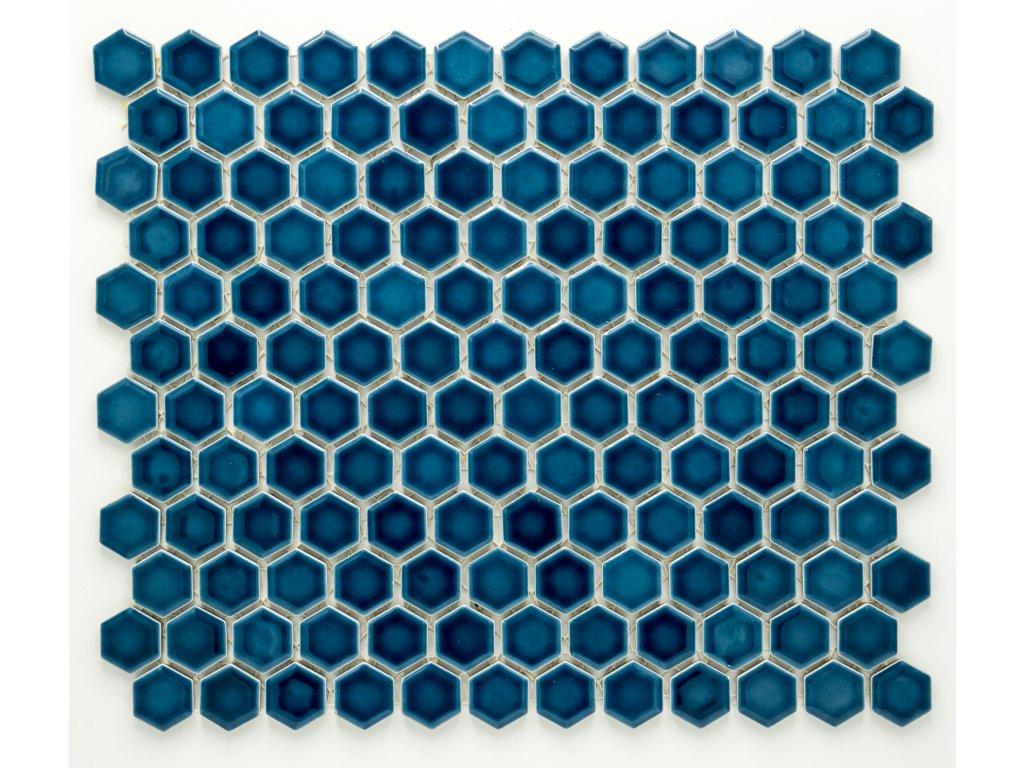 MCH 010 keramická mozaika modrá 23x26mm