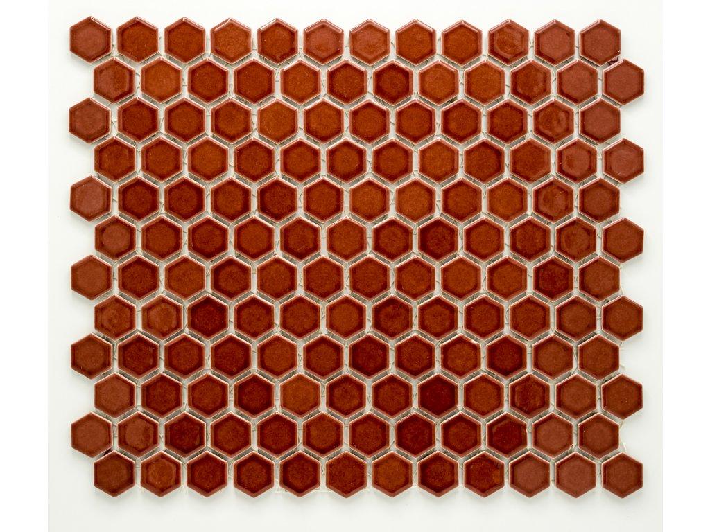 MCH 011 keramická mozaika vínová 23x26mm