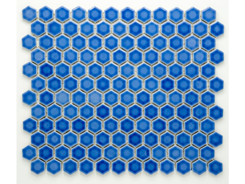 MCH 014 keramická mozaika modrá 23x26mm
