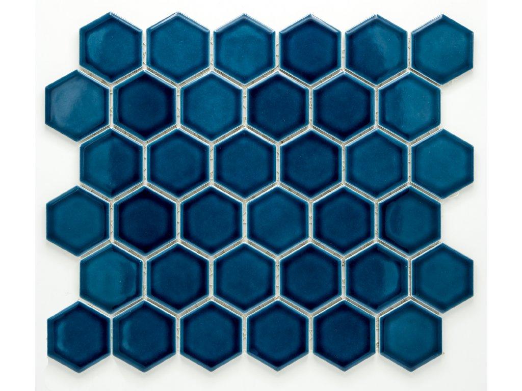 MCH 016 keramická mozaika modrá 51x59mm