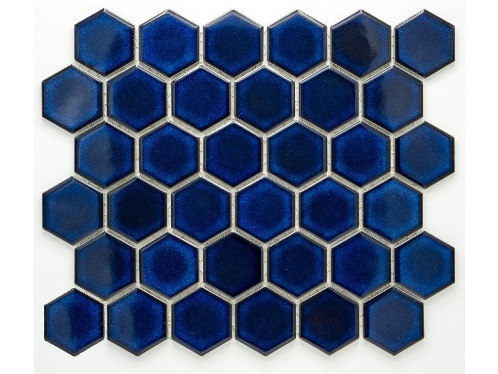 MCH 018 keramická mozaika kobaltová51x59mm