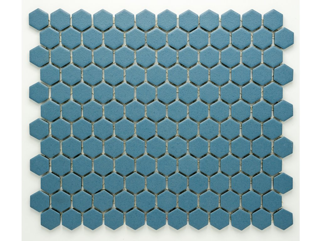 MCH 023 keramická mozaika modrá 23x26mm