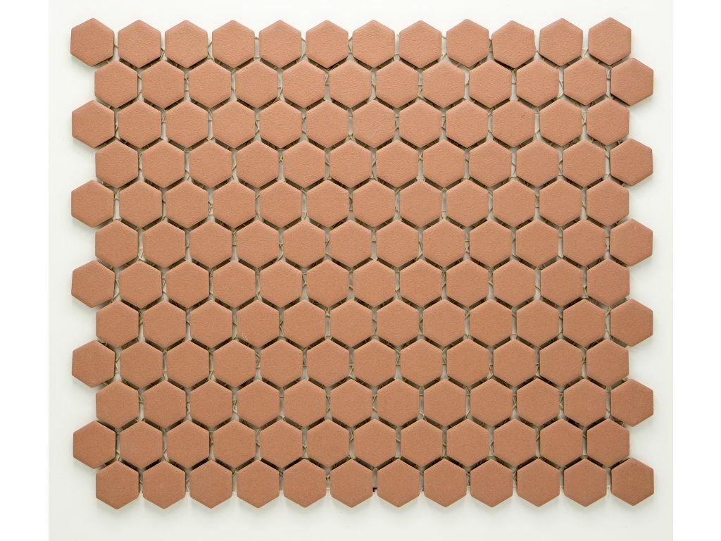 MCH 024 keramická mozaika béžová 23x26mm