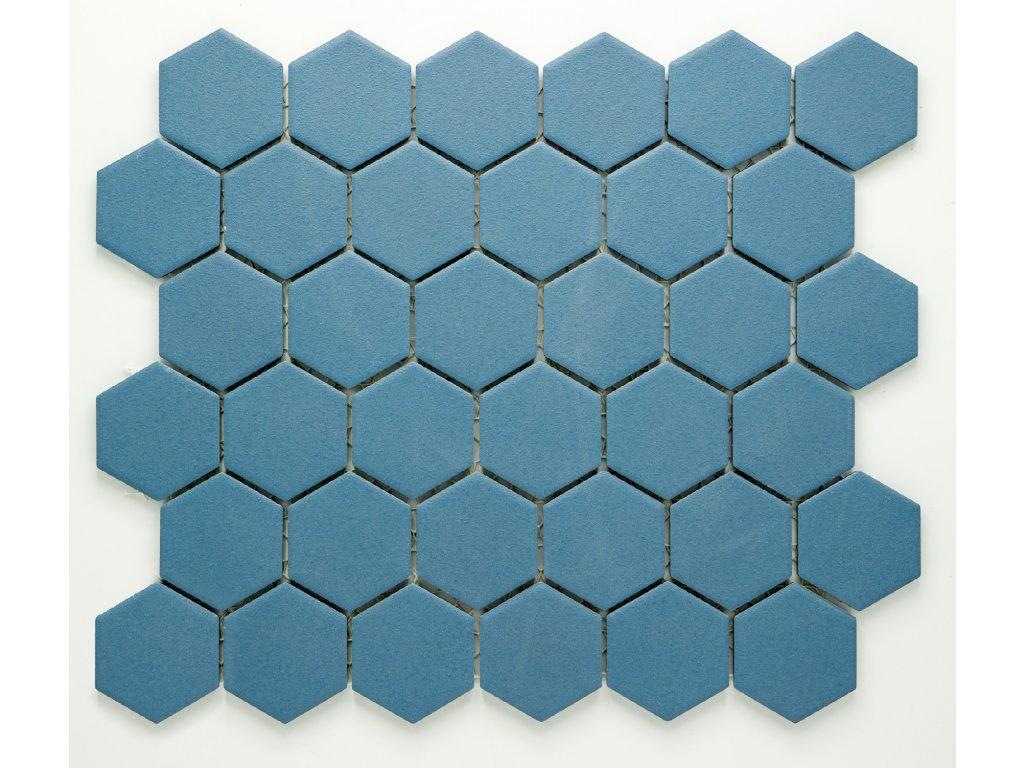 MCH 029 keramická mozaika modrá 51x59mm