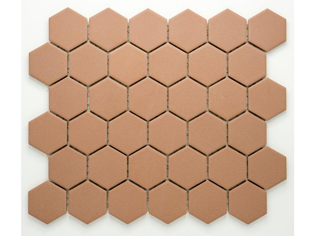 MCH 030 keramická mozaika béžová 51x59mm