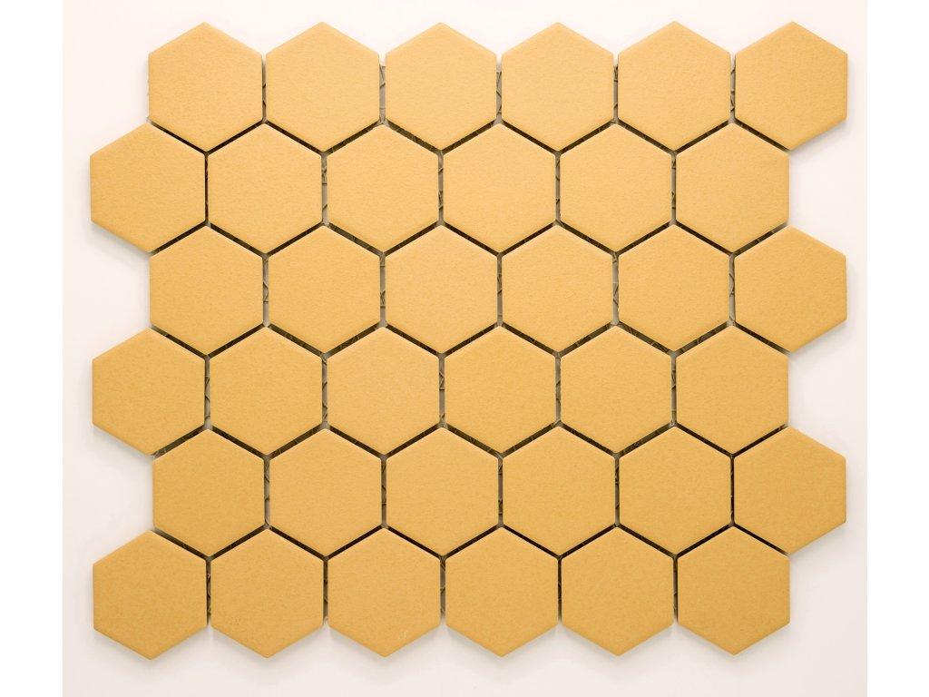 MCH 031 keramická mozaika okrová 51x59mm