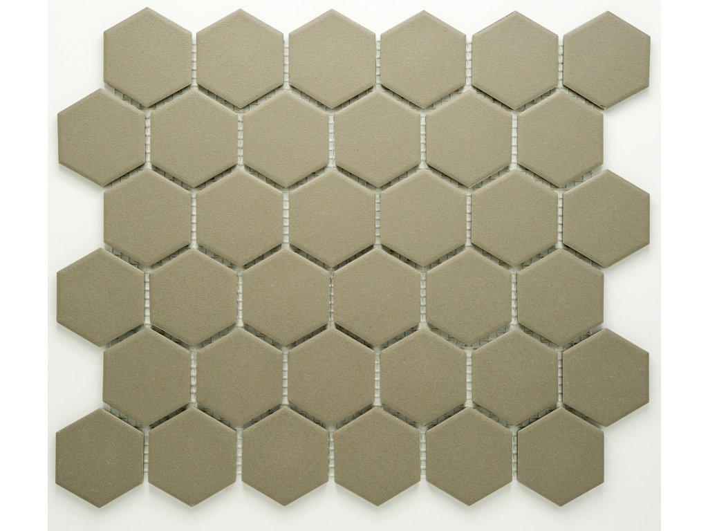 MCH 035 keramická mozaika šedá 51x59mm