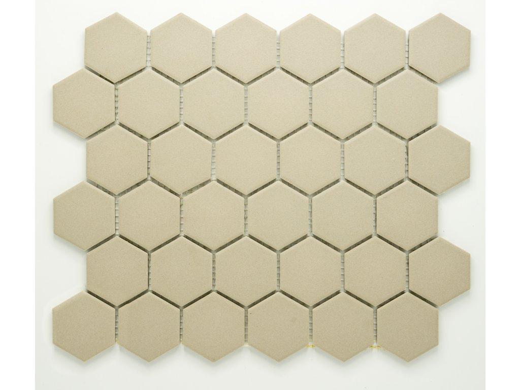 MCH 036 keramická mozaika šedá 51x59mm