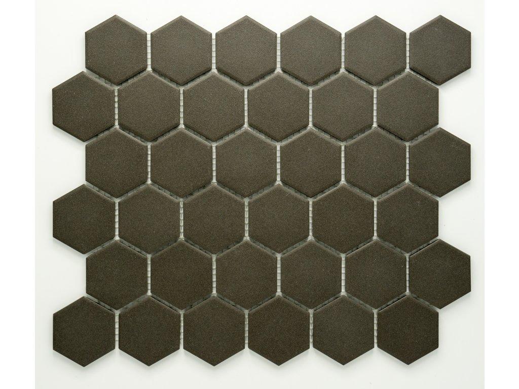 MCH 037 keramická mozaika šedá 51x59mm