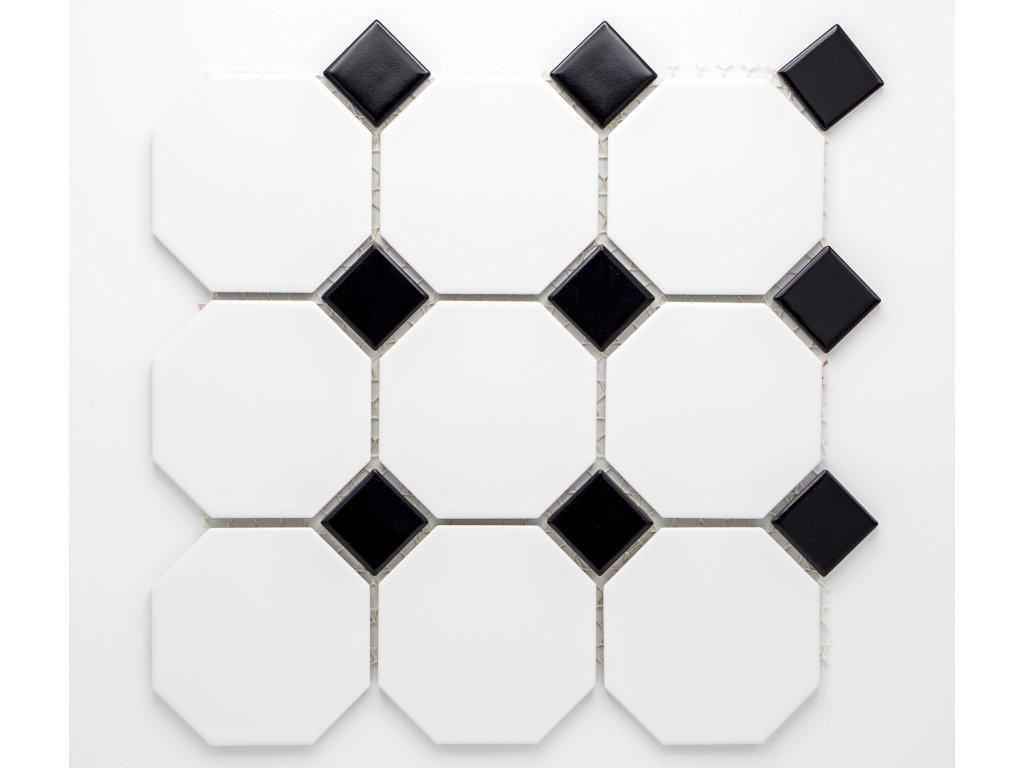 MCO 003 keramická mozaika bílá 97x97mm