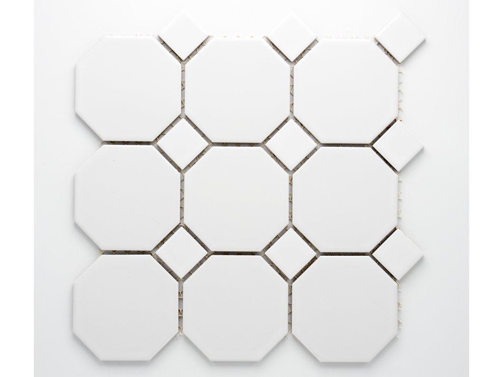 MCO 004 keramická mozaika bílá 97x97mm