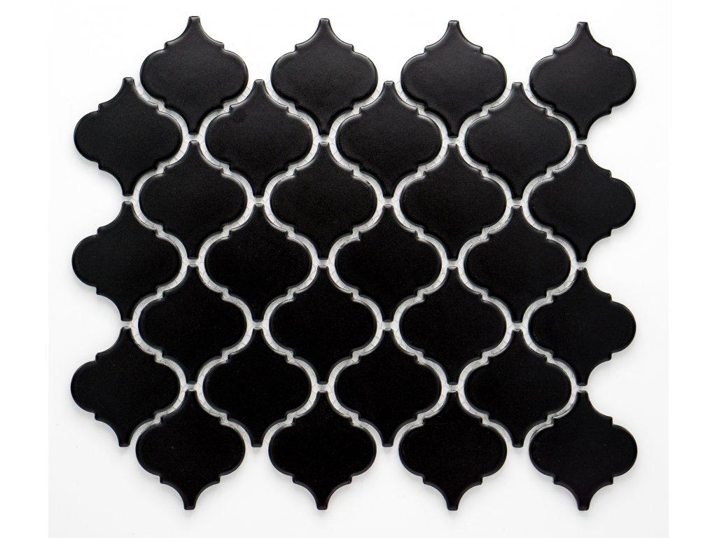 MCS 012 keramická mozaika černá
