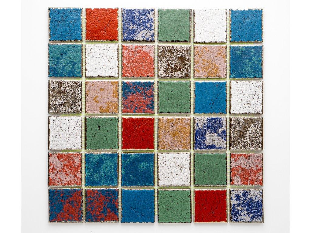 MC48 020 keramická mozaika 48x48mm