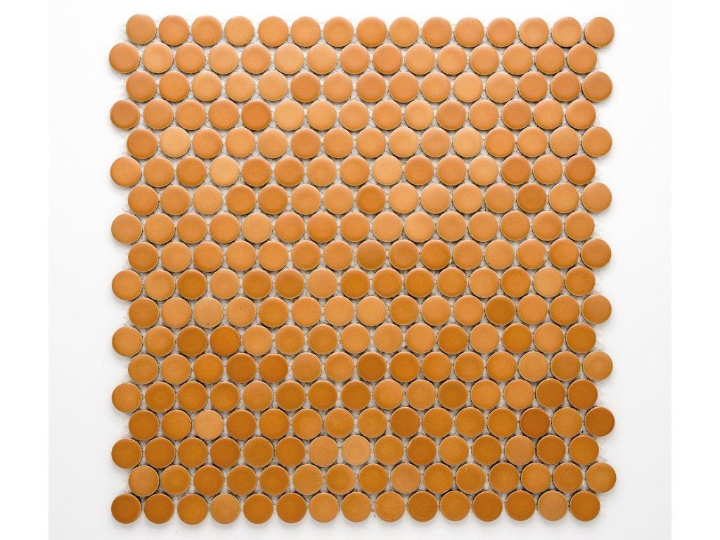 MCPR 001 keramická mozaika béžová 19mm