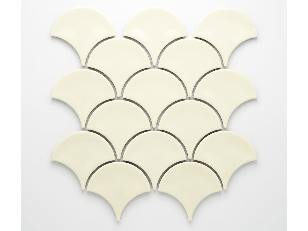 MCS 013 keramická mozaika slonová kost