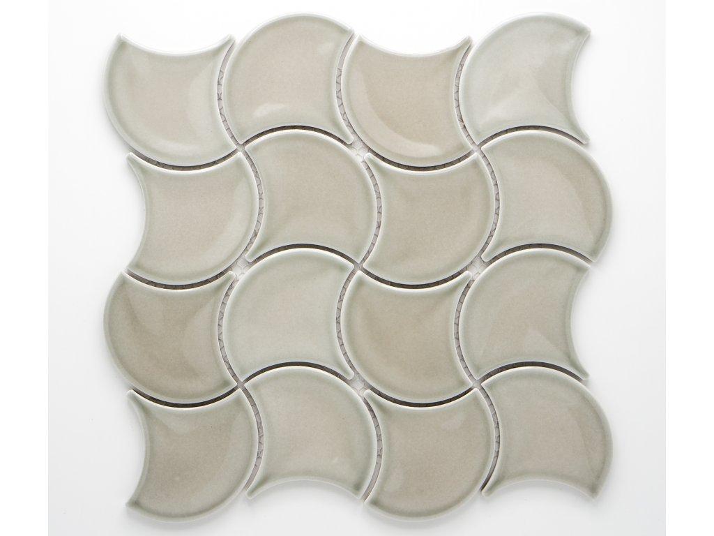 MCS 015 keramická mozaika šedá