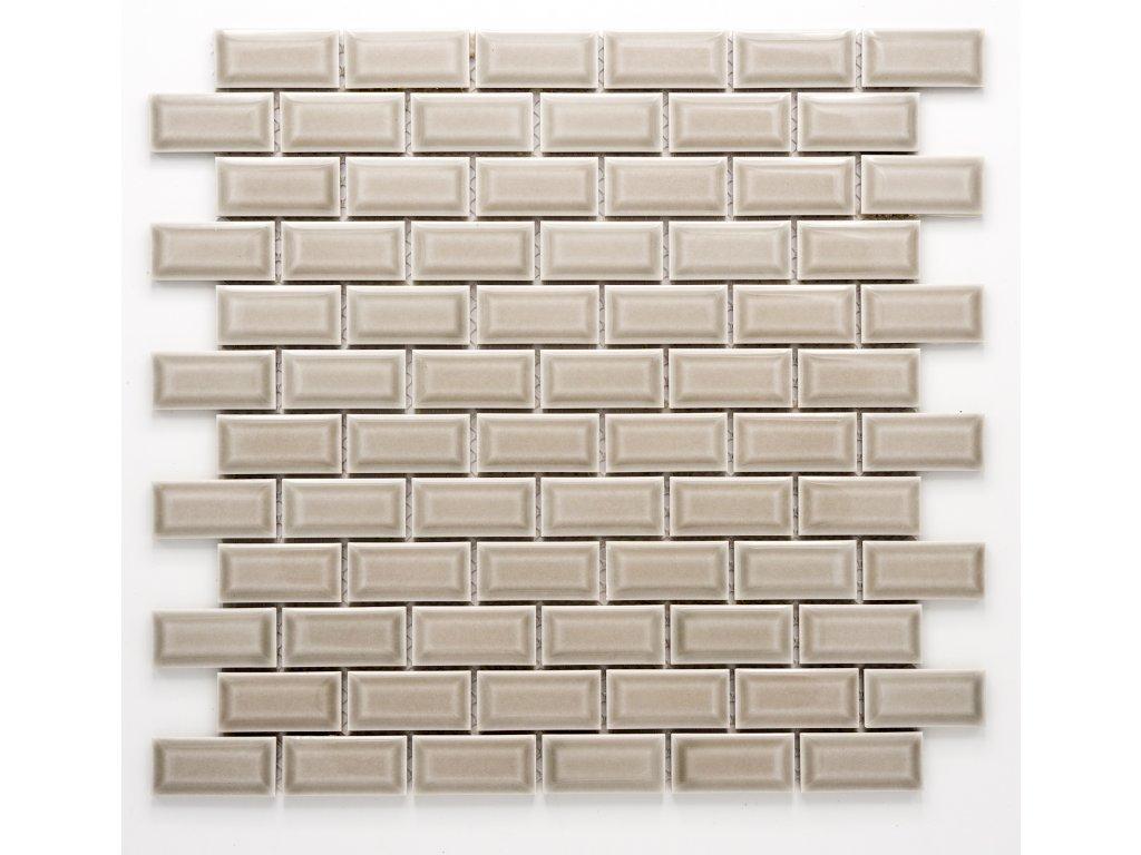 MCB 028 keramická mozaika šedá 23x48mm