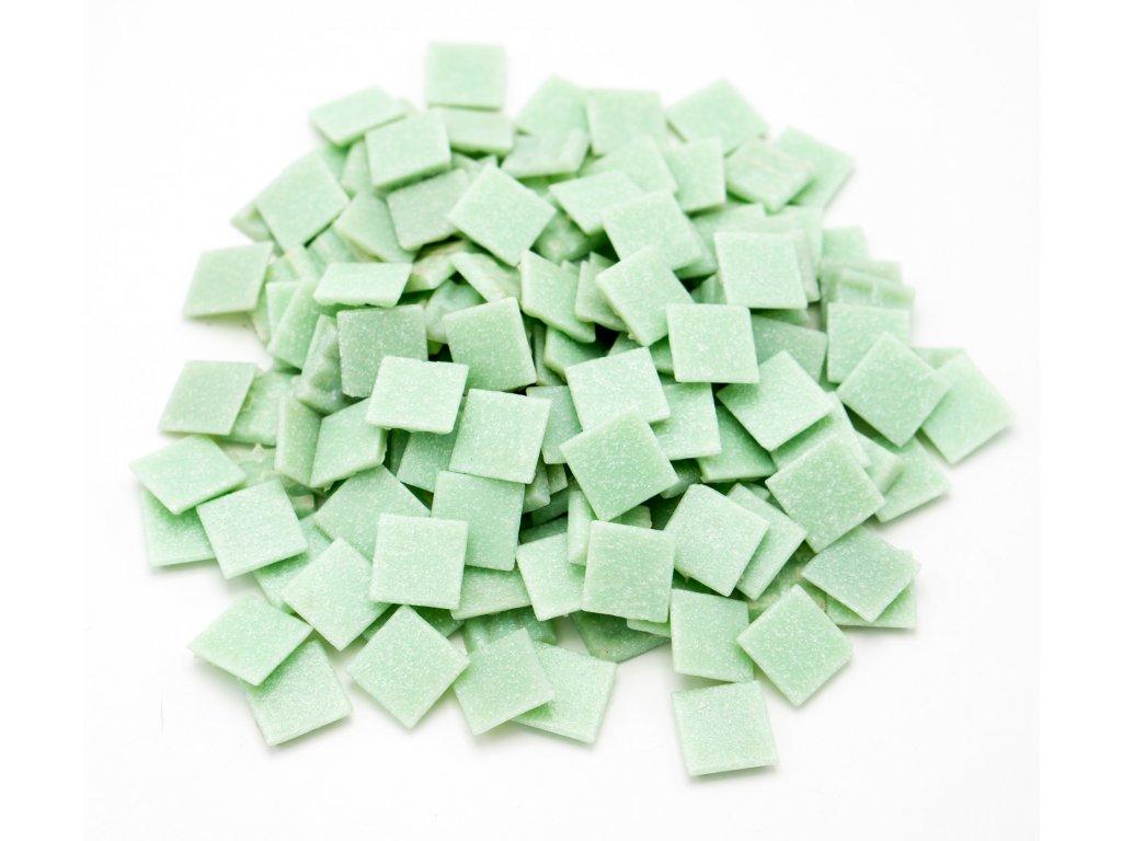 CM 009 mozaika skleněná světle zelená 20x20mm 500g