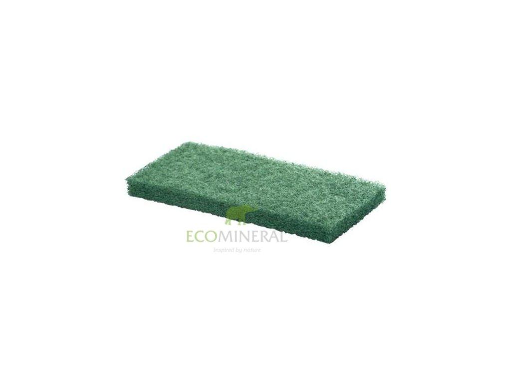 Brusná podložka zelená hrubá